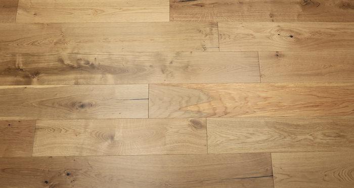 Natural Click Oak Lacquered 150mm Engineered Wood Flooring - Descriptive 5