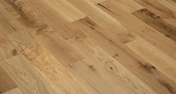 Natural Click Oak Lacquered 150mm Engineered Wood Flooring - Descriptive 6