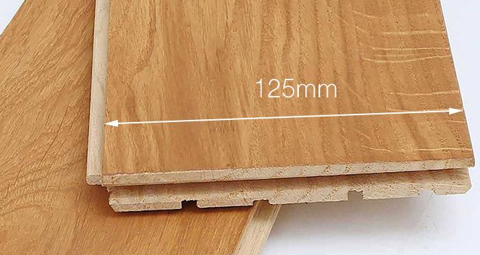 Golden Oak 125mm Oiled Solid Wood Flooring - Descriptive 4