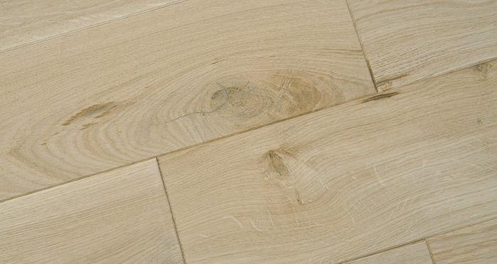 Unfinished Oak 130mm Wide Solid Wood Flooring - Descriptive 2