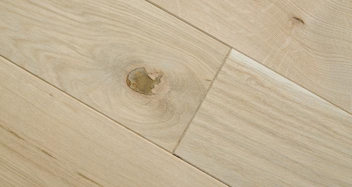 Unfinished Oak 130mm Wide Solid Wood Flooring - Descriptive 4