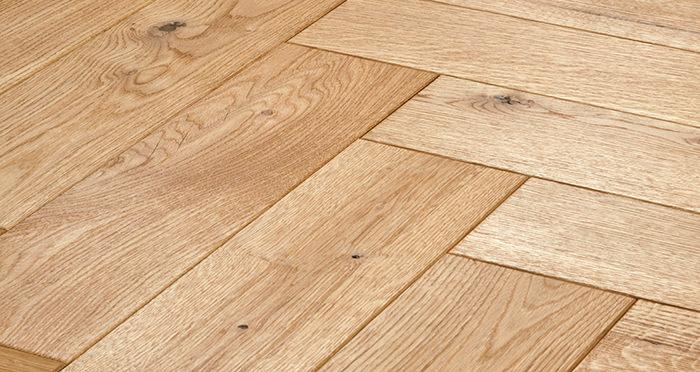 Luxury Parquet Natural Oiled Oak Solid Wood Flooring - Descriptive 1