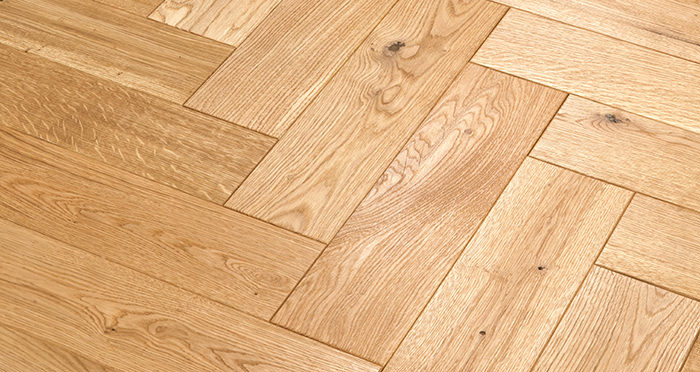 Luxury Parquet Natural Oiled Oak Solid Wood Flooring - Descriptive 2