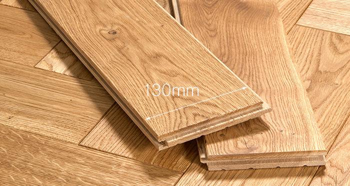 Luxury Parquet Natural Oiled Oak Solid Wood Flooring - Descriptive 4