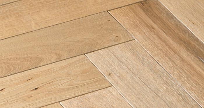 Luxury Whitewashed Parquet Oak Solid Wood Flooring - Descriptive 6