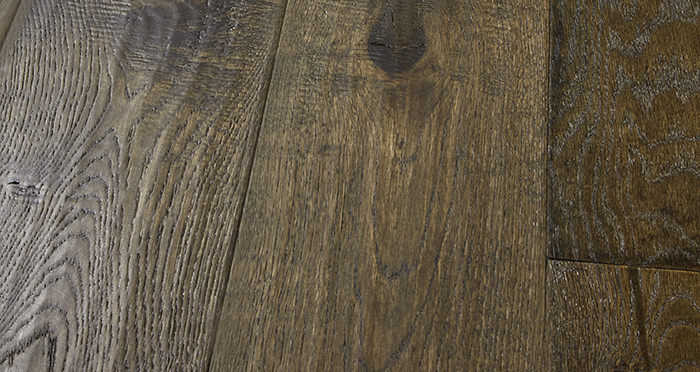 Smoked Old French Oak Engineered Wood Flooring - Descriptive 1