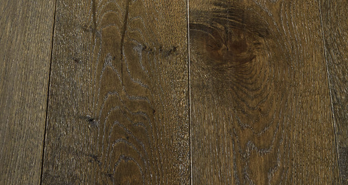 Smoked Old French Oak Engineered Wood Flooring - Descriptive 3