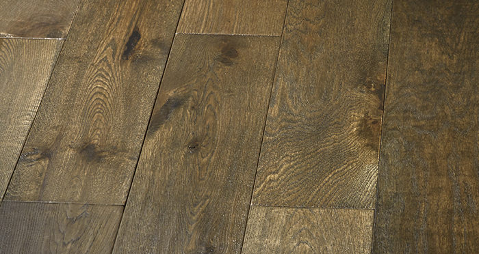 Smoked Old French Oak Engineered Wood Flooring - Descriptive 6