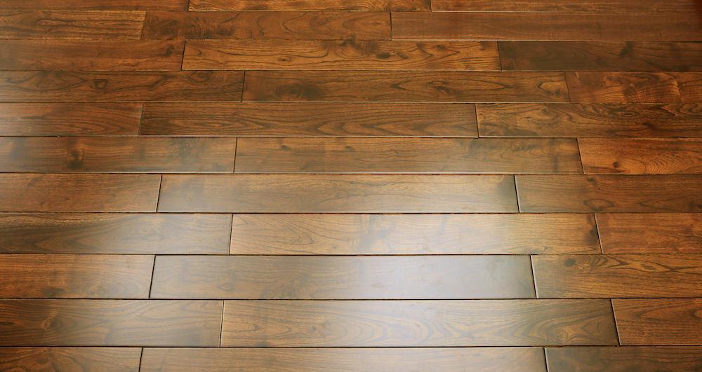 Pacific Mahogany Burgundy Lacquered Solid Wood Flooring - Descriptive 4