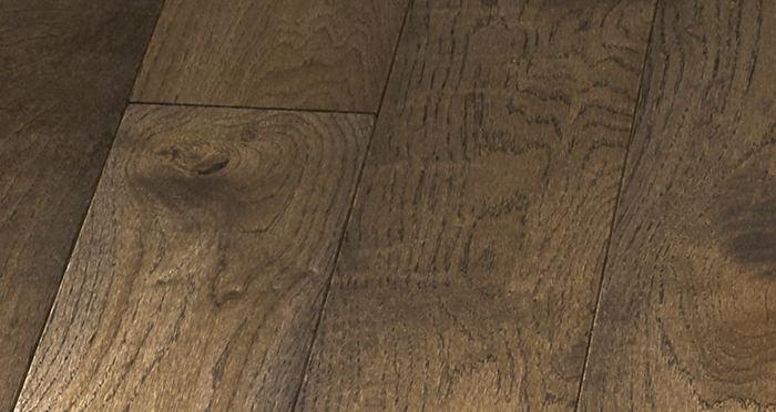 Elegant Espresso Oak Brushed & Oiled Solid Wood Flooring - Descriptive 2