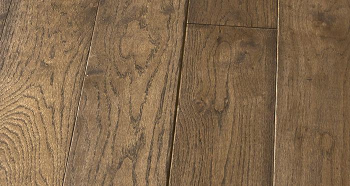Elegant Espresso Oak Brushed & Oiled Solid Wood Flooring - Descriptive 5