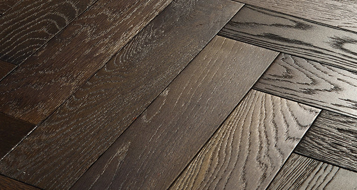 Oxford Herringbone Vintage Oak Engineered Wood Flooring - Descriptive 1