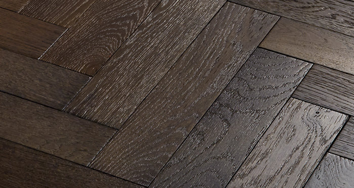 Oxford Herringbone Vintage Oak Engineered Wood Flooring - Descriptive 3
