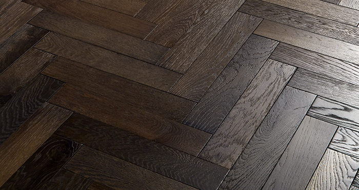 Oxford Herringbone Vintage Oak Engineered Wood Flooring - Descriptive 4