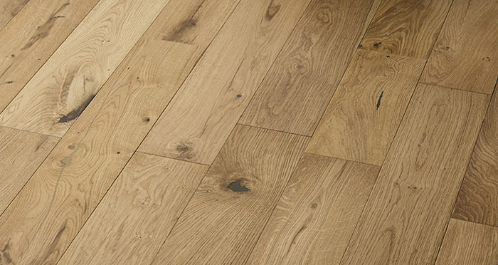 Loft Natural Oak Lacquered Engineered Wood Flooring - Descriptive 2