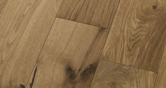 Loft Natural Oak Lacquered Engineered Wood Flooring - Descriptive 5