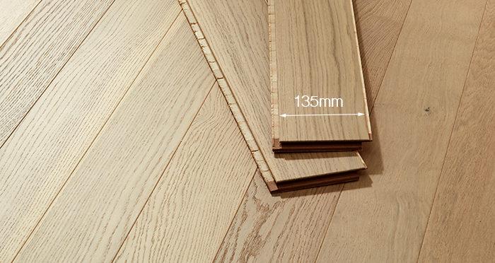 Salcombe Sandy Dune Oak Engineered Wood Flooring - Descriptive 2