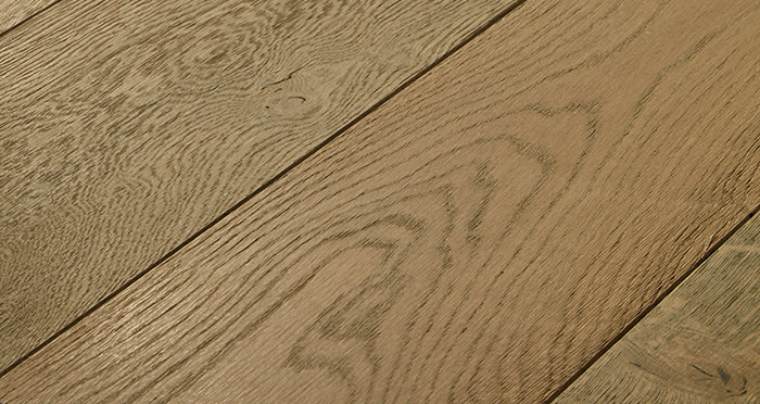 Distressed Old Boathouse Oak Brushed & Oiled Engineered Wood Flooring - Descriptive 1