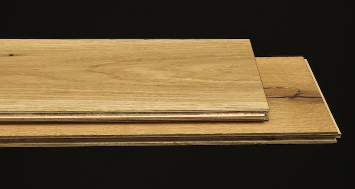 Barn Natural Oak Brushed & Oiled Engineered Wood Flooring - Descriptive 1