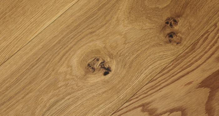 Barn Natural Oak Brushed & Oiled Engineered Wood Flooring - Descriptive 6