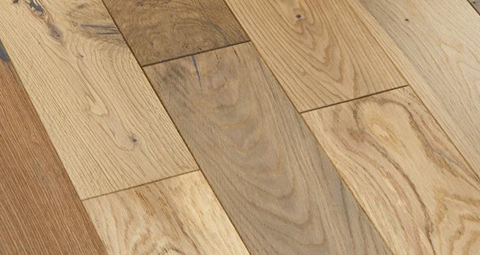 Studio Blonde Oak Brushed & Oiled Engineered Wood Flooring - Descriptive 5