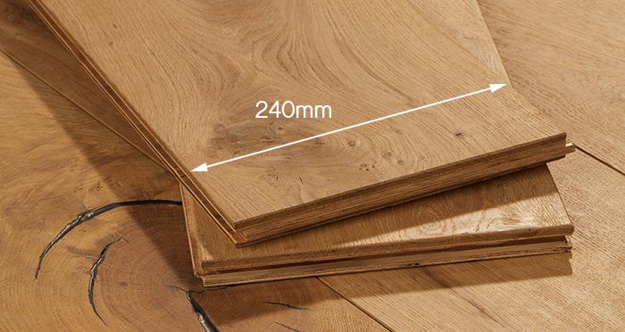 Weathered Bavarian Oak Engineered Wood Flooring - Descriptive 6