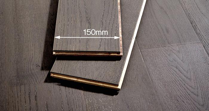 Loft Slate Grey Oak Engineered Wood Flooring - Descriptive 3