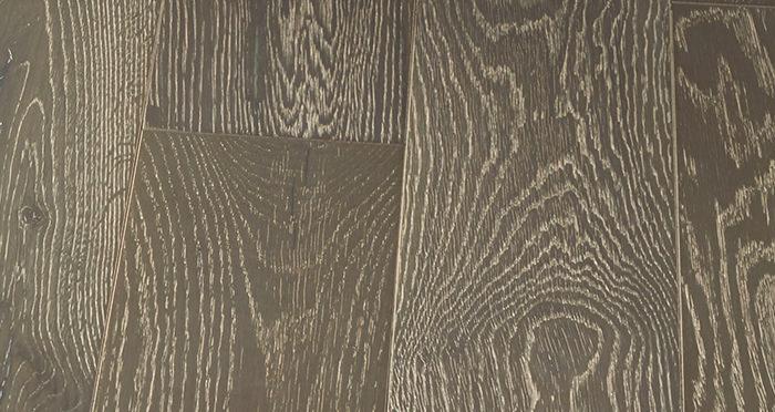 Manhattan Urban Grey Oak Brushed & Lacquered Engineered Wood Flooring - Descriptive 6