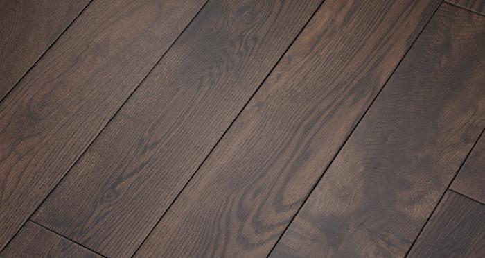 Brown Bear Oak Lacquered Solid Wood Flooring - Descriptive 1