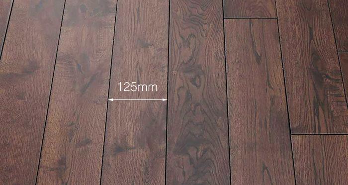 Brown Bear Oak Lacquered Solid Wood Flooring - Descriptive 3