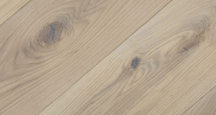 Prestige Herringbone Frosted Oak Oiled Engineered Wood Flooring - Descriptive 3