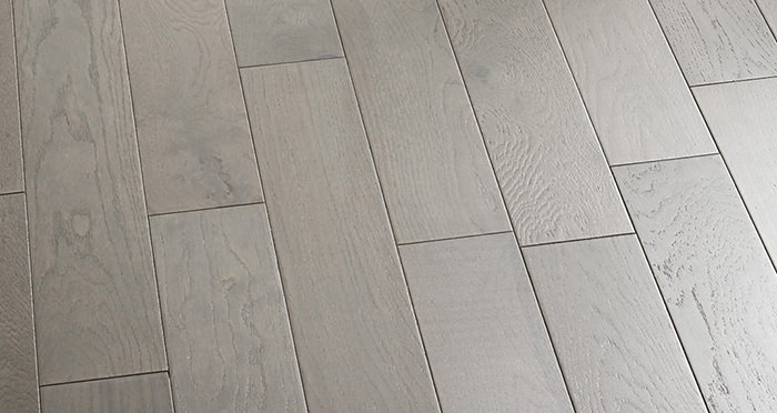 Studio Slate Grey Brushed & Lacquered Engineered Wood Flooring - Descriptive 5