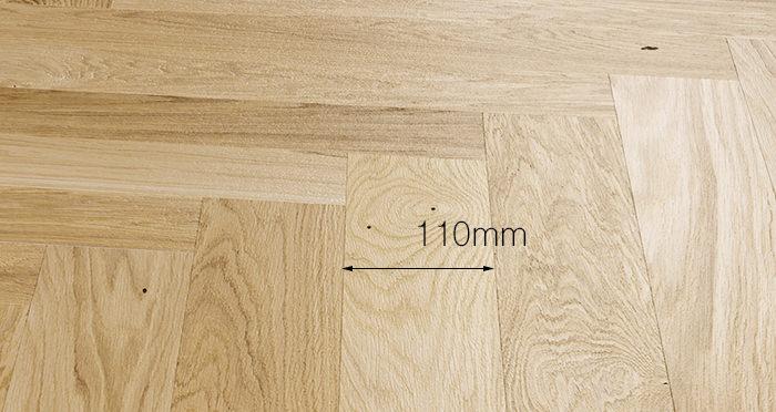 Bayswater Herringbone - Unfinished Oak Engineered Wood Flooring - Descriptive 3