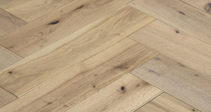 Brooklyn Nautical Herringbone Oak Engineered Wood Flooring - Descriptive 2