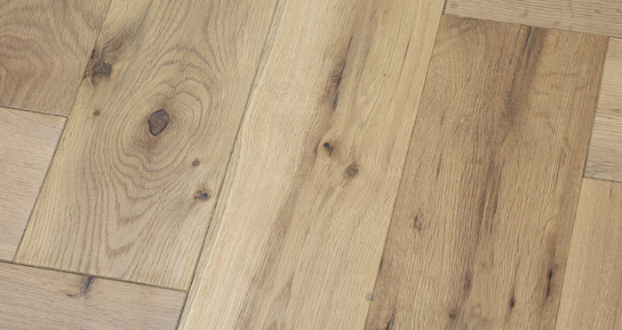 Brooklyn Nautical Herringbone Oak Engineered Wood Flooring - Descriptive 3