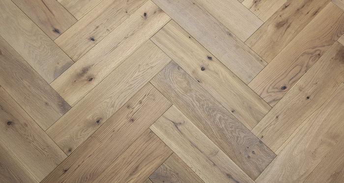 Brooklyn Nautical Herringbone Oak Engineered Wood Flooring - Descriptive 4