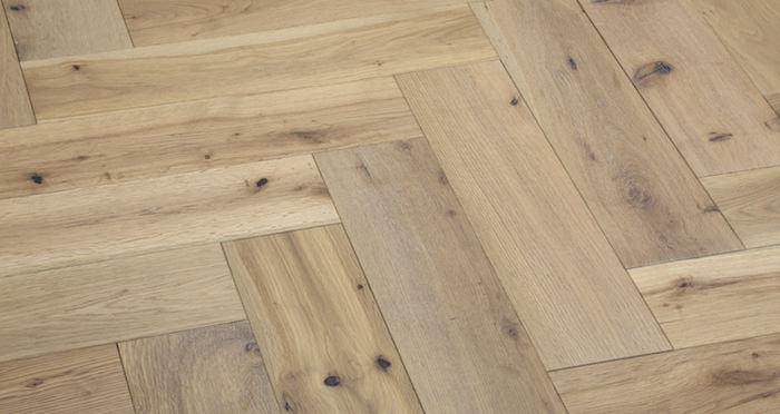 Brooklyn Nautical Herringbone Oak Engineered Wood Flooring - Descriptive 5
