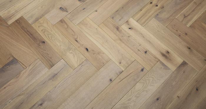 Brooklyn Nautical Herringbone Oak Engineered Wood Flooring - Descriptive 6