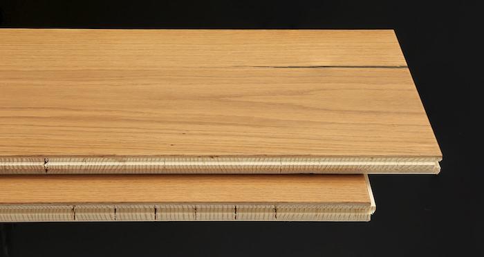 Supreme Golden Oak Brushed & Oiled Engineered Wood Flooring - Descriptive 1
