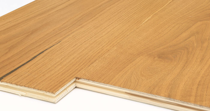 Supreme Golden Oak Brushed & Oiled Engineered Wood Flooring - Descriptive 7