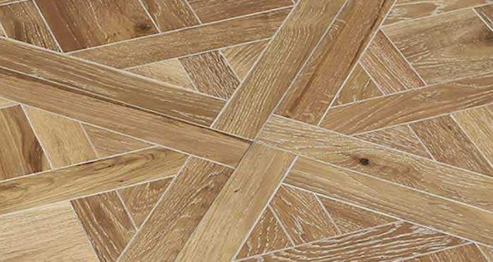 Strasburg White Smoked Oak Brushed & Oiled Versailles Tile Engineered Wood Flooring - Descriptive 2
