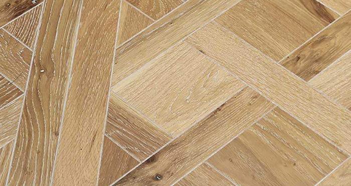 Strasburg White Smoked Oak Brushed & Oiled Versailles Tile Engineered Wood Flooring - Descriptive 3