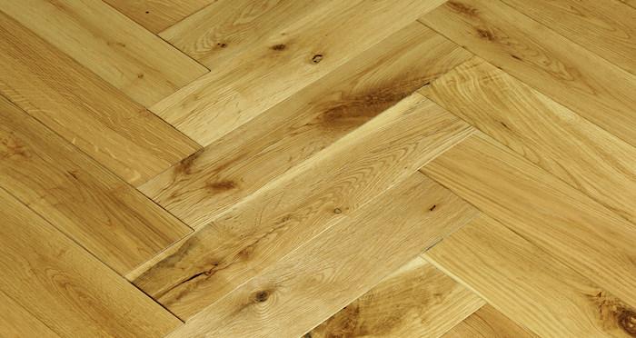 Oxford Natural Herringbone Oak Engineered Wood Flooring - Descriptive 4