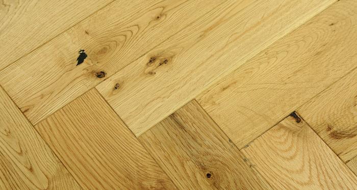 Oxford Natural Herringbone Oak Engineered Wood Flooring - Descriptive 5