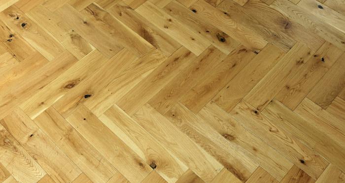 Oxford Natural Herringbone Oak Engineered Wood Flooring - Descriptive 6