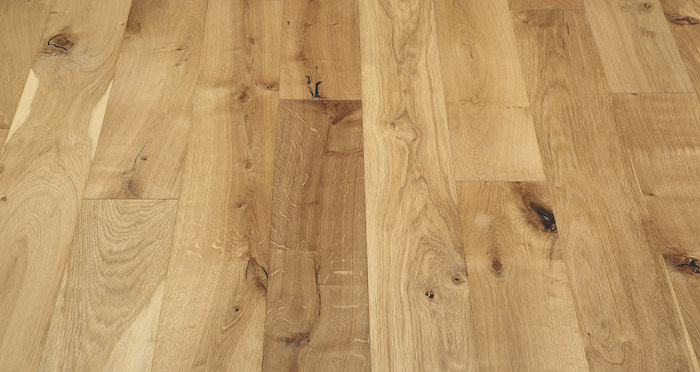 Natural Click Oak Brushed & Oiled 150mm Engineered Wood Flooring - Descriptive 3