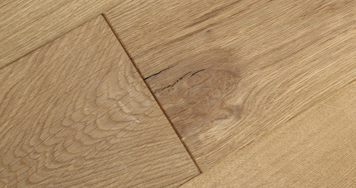 Natural Click Oak Brushed & Oiled 150mm Engineered Wood Flooring - Descriptive 4