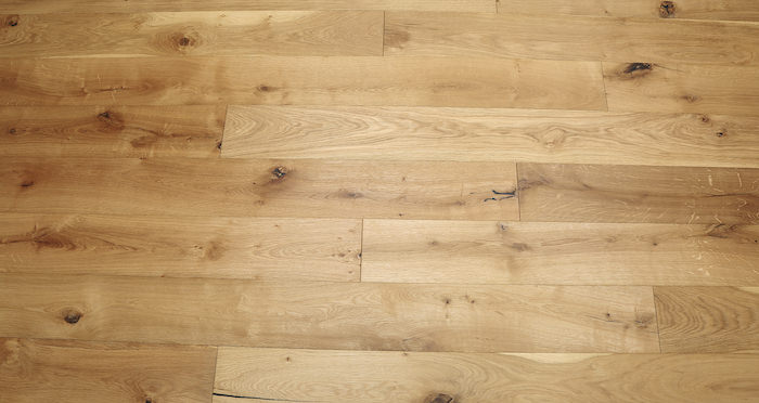 Natural Click Oak Brushed & Oiled 150mm Engineered Wood Flooring - Descriptive 5