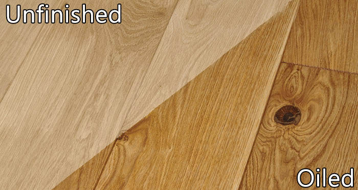 Supreme Unfinished Oak Solid Wood Flooring - Descriptive 6