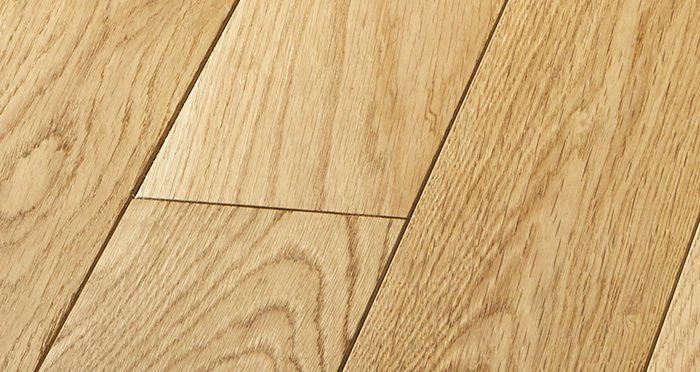 Elegant Natural Oak Brushed & Oiled Solid Wood Flooring - Descriptive 4